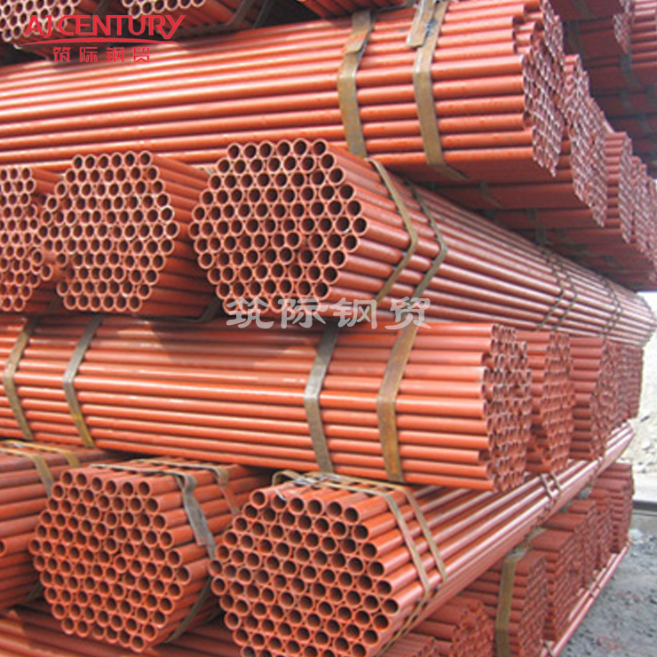 红色油漆排栅钢管